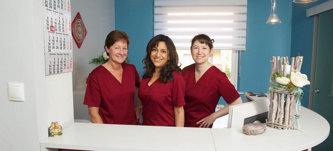 Team der Zahnarztpraxis Helmers