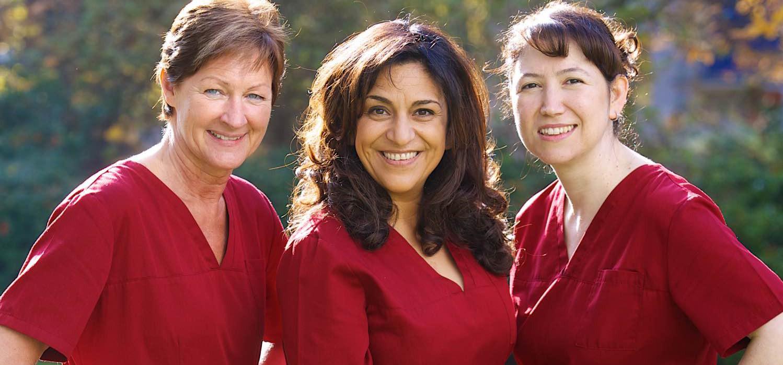 Das Team der Zahnarztpraxis Lida Helmers